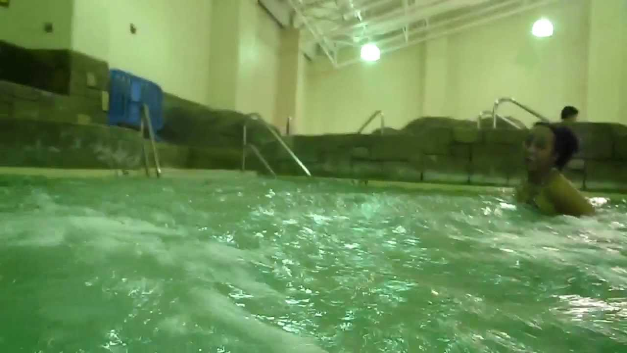Ryan Water Slide At Germantown Indoor Pool Youtube