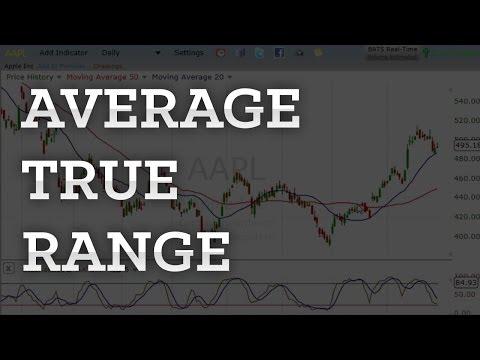 How to use average true range forex