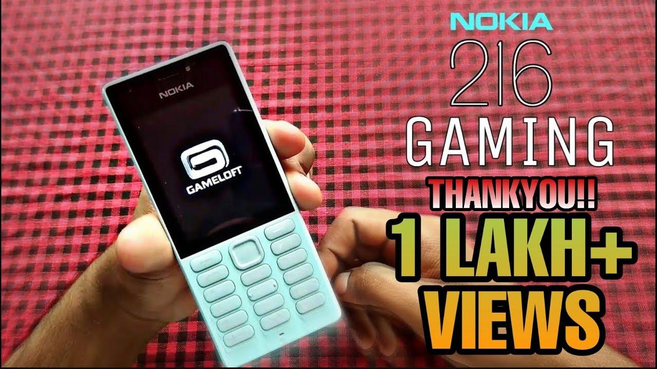 Nokia 216   Gaming!!