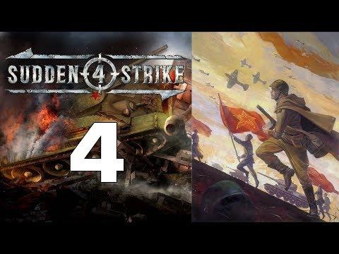 Прохождение Sudden Strike 4 #4 - Курская битва: Поныри [Кампания за СССР]