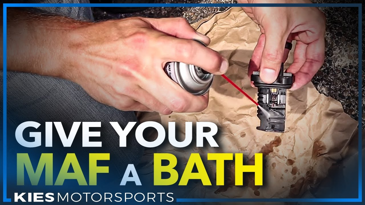 Give your MAF a BATH (How to clean your Mass Airflow Sensor on F30 BMW)  YouTube
