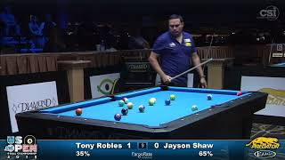 2015 US Open 8-Ball: Tony Robles vs Jayson Shaw