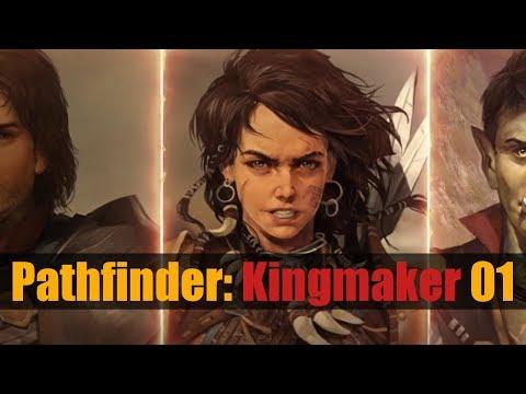 [FR] Pathfinder Kingmaker Gameplay ép 1 – Let's Play Découverte D'un RPG Très Classe