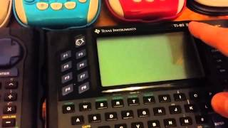 TI Graphing Calculator Collection