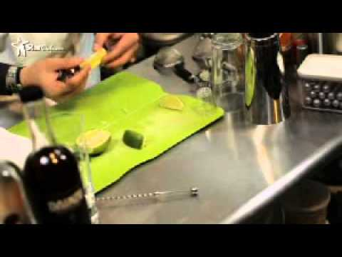 The Liquid Chef, Junior Merino of The Liquid Lab in The Bronx, NY creates Coming up Roses