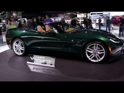 LA Motor Show, Los Angeles, CA, USA - C7 Corvette Display (November 2013)