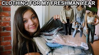 BACK TO SCHOOL CLOTHING HAUL! (FRESHMAN) FT. PRINCESS POLLY