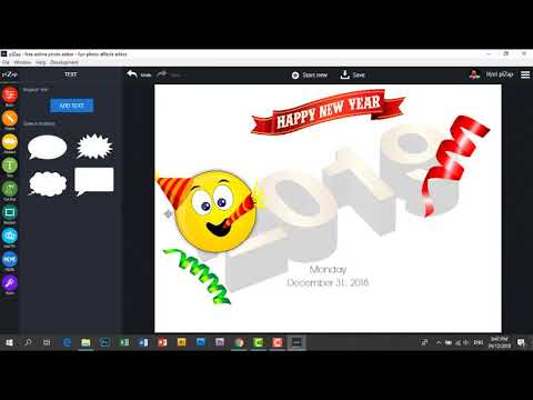 pizaps quick photo editing tutorial new years eve party invitations