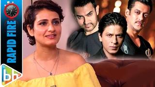 Fatima Sana Shaikh's FUNNY Rapid Fire On Salman Khan | Shah Rukh Khan | Aamir Khan