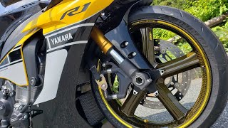 2016 Yamaha R1 (Rocket-Taxi) Gets Rotobox Carbon Wheels!!