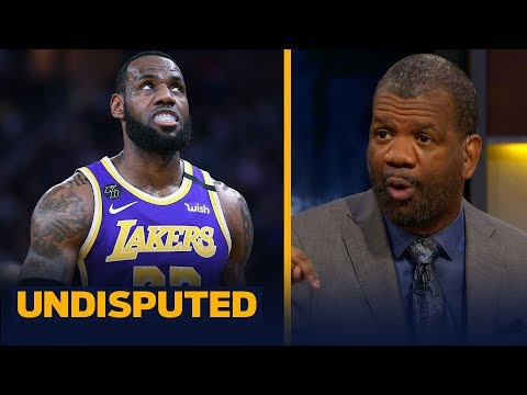 Rob Parker isn't buying that LeBron, Lakers front office are on the same page | NBA | UNDISPUTED