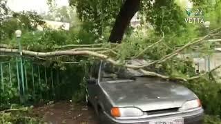 Последствия урагана 20 июня