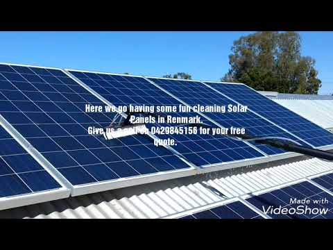 How To Clean Roof Mounted Solar Panels .