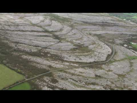 The Burren - Aerial tour