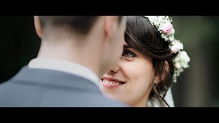 Very emotional reaction when seeing his bride / Zuzka ♥ Petr / wedding day Czech Republic
