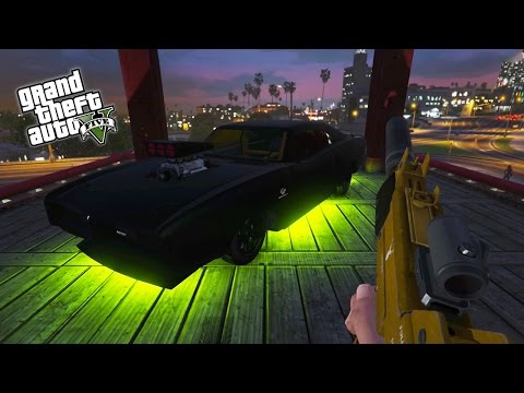 GTA 5 Next Gen - GTA Online First Person Races, Survival Challenges & Rampage! (GTA 5 PS4 Gameplay)