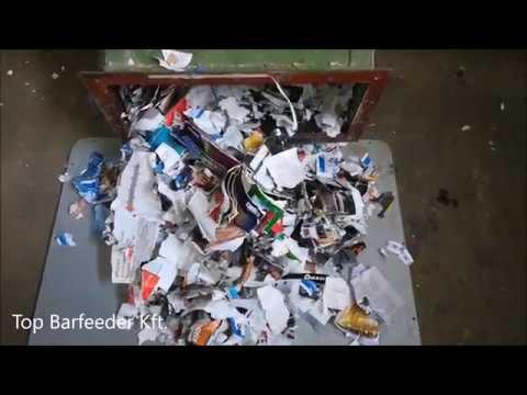 Paper shredder 22 KW Top Barfeeder Kft.