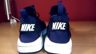 Comparison: Nike Air Huarache Run Ultra (Authentic vs. Replica)