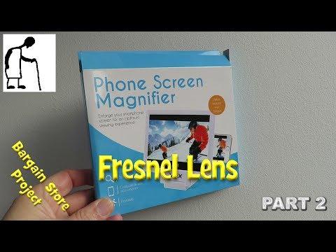 Bargain Store Project Fresnel Lens PART 2