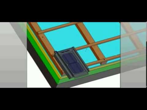 solar tile installation video