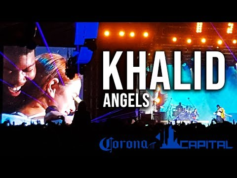 Khalid - Angels LIVE With Michelle   Corona Capital 2018