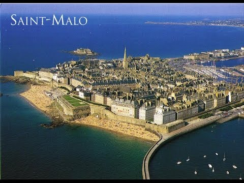Visit of Dinard and Saint Malo, Bretagne, France