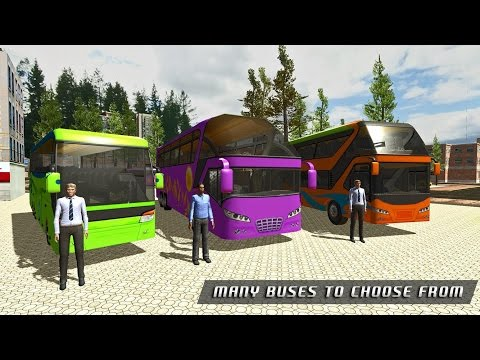 Off Road Tourist Bus Driver 3D Android Gameplay ( By Mizo Studio Inc)
