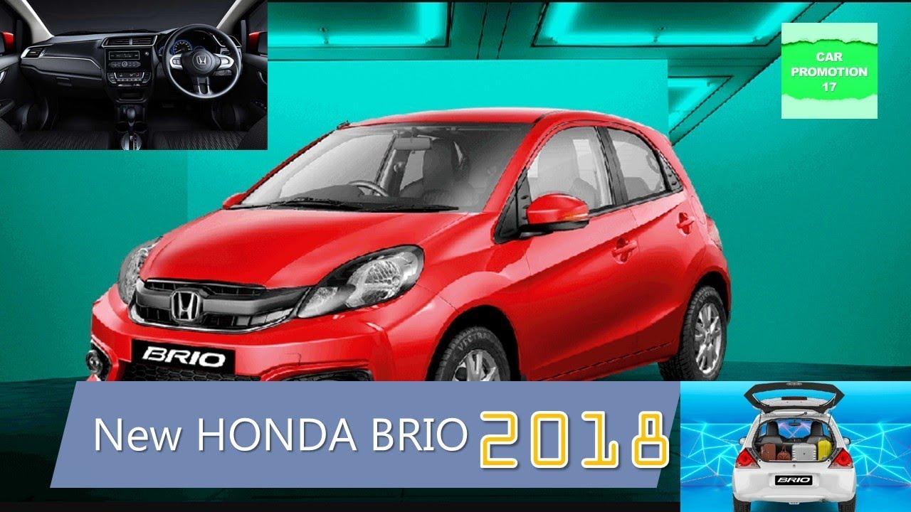 The New Honda Brio Price India