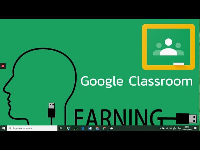 Google Classroom EP.5 (การสร้างกิจกรรมมอบหมายงานแบบส่งคำตอบโดยแนบไฟล์เอกสาร)