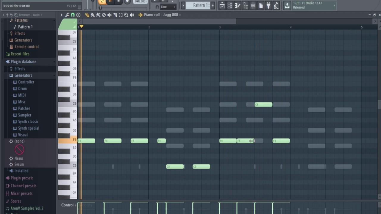TUTORIAL:Playboi Carti/MexikoDro Type Beat FL Studio 12