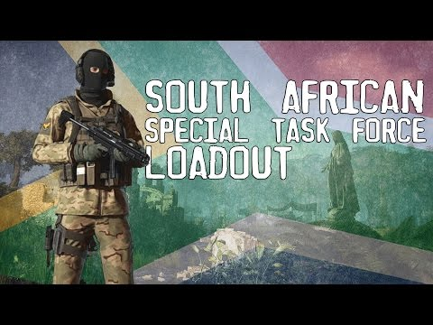 Ghost Recon: Wildlands - South African Special Task Force Loadout (SAPS JTF)