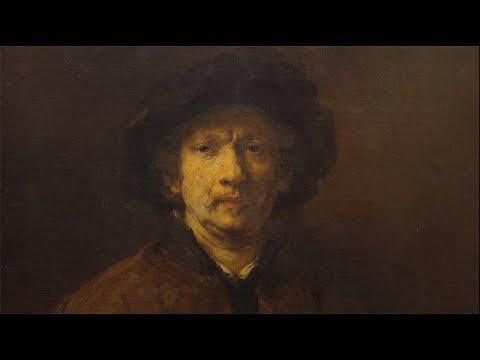 100 Meisterwerke - Großes Selbstbildnis - Rembrandt van Rijn