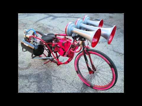 Homemade Chainsaw Bike Not Friction Doovi