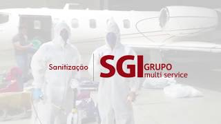 Sanitização Aeronaves