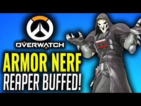Tanks Nerfed & Reaper Buffed! Overwatch PTR Patch! [January 2019] thumbnail