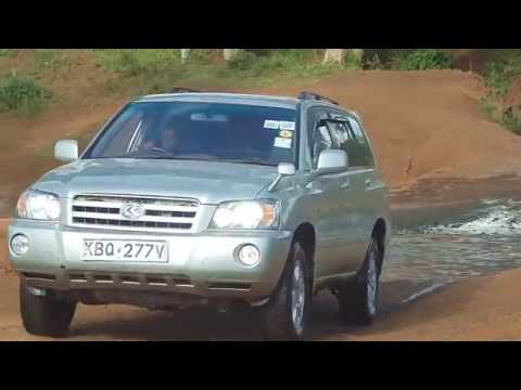 Toyota Kluger 2.4 Review