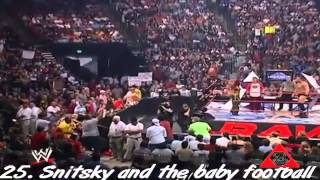 Top 50 moments in WWF - WWE history