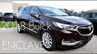 AUTO REVIEW! - 2018 Buick Enclave Premium - First Impressions / Overview