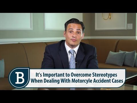 Courtroom Stereotypes of Motorcyclists Involved in Accidents – RI Motorcycle Accident Lawyer