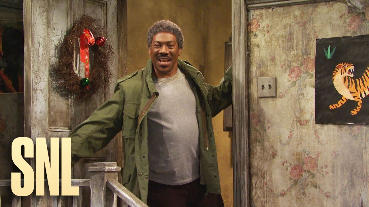 Eddie Murphy returns to 'SNL' as Mister Robinson and Buckwheat ...