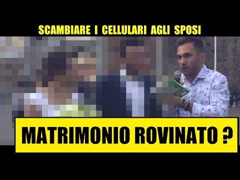 SCAMBIARE I CELLULARI AGLI SPOSI: Matrimonio Rovinato? - Giacomo Hawkman