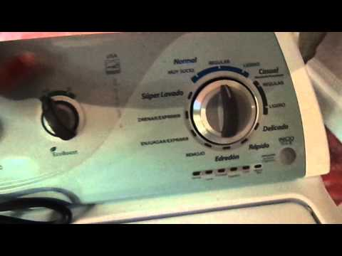 Programacion Lavadora Whirlpool Doovi