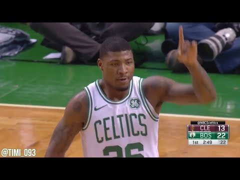 Marcus Smart Highlights vs Cleveland Cavaliers (15 pts, 4 reb, 4 ast)
