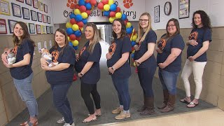 7 Teachers Are Pregnant at Same School