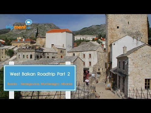Exploring Mostar, Sarajevo, Podgorica and Vlore on a Motorcycle