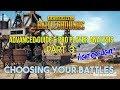 PUBG: Tips, Tactics & Pro Player Analysis Pt. 3 Choosing Your Battles Ft. Cloud 9 Chappie (Xbox/PC)