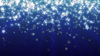 Sternschnuppen Hintergrund - Frei Looping Star Hintergrund für Videos