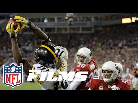 #3 Santonio Holmes TD Catch in Super Bowl XLIII | Top 10 Greatest Catches of All Time | NFL Films