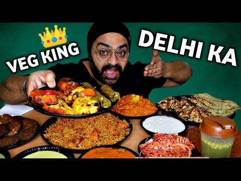 King of Veg Delicacies in New Delhi  | Bhooka Saand