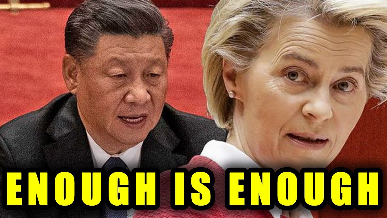 The EU's EVIL Alliance With China